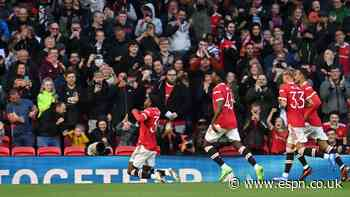 Elanga, 19, scores again in Manchester United draw