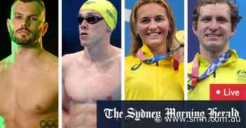 Tokyo Olympics LIVE updates: Titmus relay team, Chalmers lead big day in the pool