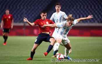 Con De La Vega en cancha, Argentina empató con España y quedó eliminada - El Popular Medios
