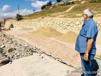 Las obras del aparcamiento de 'La Vega' llegan a su ecuador - La Rioja