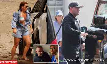 Wayne Rooney says sorry to his family and admits he 'made a mistake' over hotel room photographs