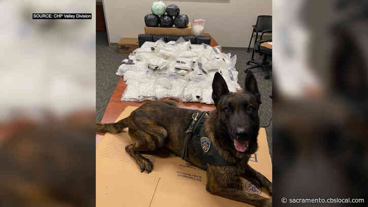 182 Pounds Of Meth Seized After Highway 99 Traffic Stop Near Manteca