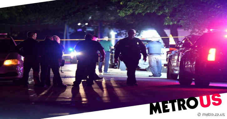 Gunman stoned to death by partygoers after killing one person and injuring three