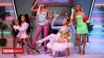 Little Mix waxworks unveiled at Madame Tussauds