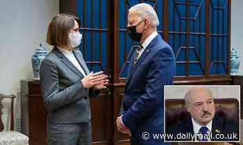 Biden meets with Belarusian opposition leader as she seeks U.S. support to tackle Lukashenko