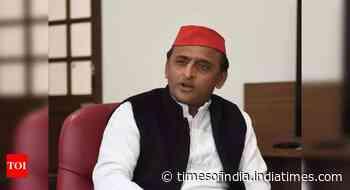 Uttar Pradesh: Where are 70 lakh jobs promised in BJP Sankalp Patra, asks Samajwadi Party chief Akhilesh - Times of India