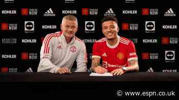 Ole: United showed 'ambition' with Varane, Sancho