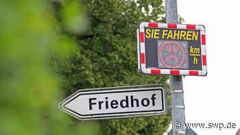 Auswertung der Geschwindigkeitsmesstafeln: Wo in Langenau gerast wird - SWP
