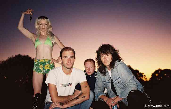 Amyl And The Sniffers dance with the dead in video for new track 'Security'