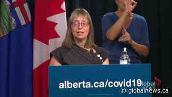Alberta not offering 3rd COVID-19 dose at this time, Hinshaw stresses importance of 2 jabs