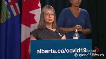 64% of Albertans fully immunized; Hinshaw says 2 COVID-19 vaccine doses critical as Delta variant spreads