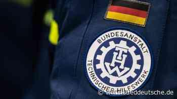 THW aus dem Norden mit 170 Kräften im Hochwassergebiet - Süddeutsche Zeitung