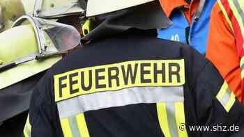 Hohenwestedt und Altenholz: Keller überflutet, Äste auf der Straße: 60 Feuerwehreinsätze nach Unwetter | shz.de - shz.de