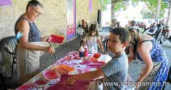 Des ateliers de peinture avec l'Art s'emporte,à Lanester - Le Télégramme