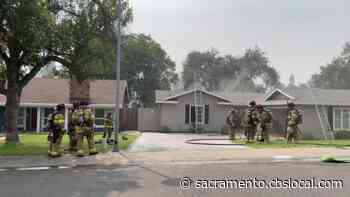 1 Person Injured In Citrus Heights House Fire