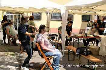 Barber Angels schneiden Bedürftigen in Ludwigshafen kostenlos die Haare - Ludwigshafen - Nachrichten und Informationen - Mannheimer Morgen