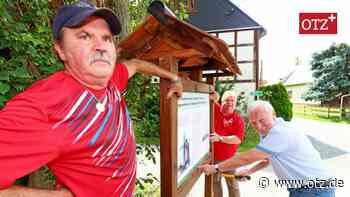 Langenwolschendorf: Rundwanderweg wird geschichtsträchtig - Ostthüringer Zeitung
