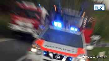 Mutter und Kinder bei Frontalcrash auf Landstraße im Kreis Greiz verletzt - Thüringische Landeszeitung