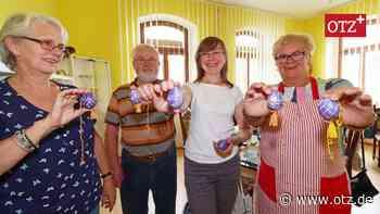 Ukrainische Eiermalerin lehrt ihre Künste in Berga - Ostthüringer Zeitung