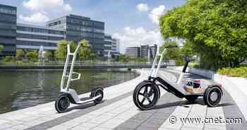 BMW debuts 2 very cool new electric scooter concepts that it won't build     - Roadshow