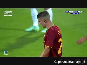 Igualdade a um entre FC Porto e Roma no último jogo do estágio no Algarve - Porto Canal
