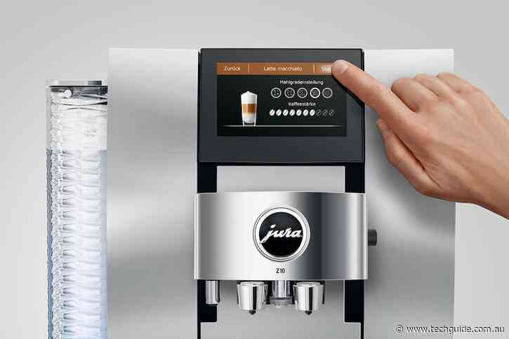 Jura Z10 is the world's first automated machine for hot and cold coffee drinks