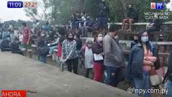 Ya no hay vacunas en Yaguarón, Quiindy y Carapeguá | Noticias Paraguay - NPY