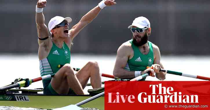 Tokyo 2020 Olympics day six: golf, swimming, rowing gold for Ireland and more – live!