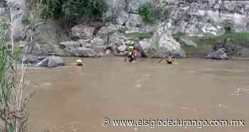 Localizan cuerpo del jinete de Río Chico - El Siglo Durango
