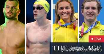 Tokyo Olympics LIVE updates: Stubblety-Cook claims gold, relay team, Chalmers to come