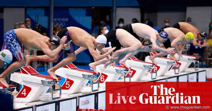 Tokyo 2020 Olympics day six: swimming, golf, rowing gold for Ireland and more – live!