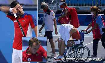 Italy Fognini blames heat for homophobic slur Russia Medvedev scolds reporter cheating question