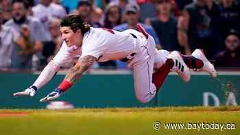 Houck, Red Sox top Blue Jays 4-1, split doubleheader