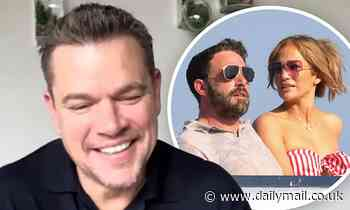 Matt Damon jokingly wishes 'nothing but hardship' on BFF Ben Affleck and Jennifer Lopez