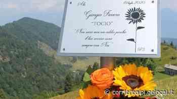 """Una targa in Valpiana per ricordare il """"Tocio"""" - Corriere Delle Alpi"""