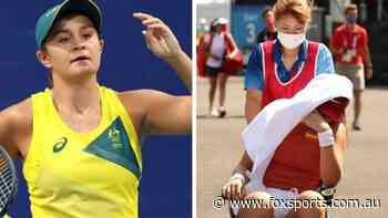 'I can die': Ash Barty reacts as heat causes carnage in Tokyo