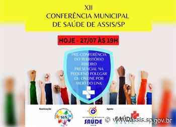 Pré-Conferência de Saúde segue nesta terça, 27, para o território Ribeiro - Prefeitura de Assis