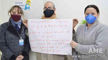 Paciente de Palmital homenageia equipe do AME Assis com cartaz - Assiscity