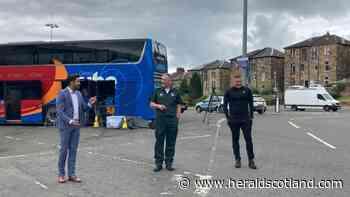 Covid: Scotland's vaccine bus marks 10,000 jab milestone | HeraldScotland - HeraldScotland