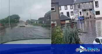 Flood patrols as heavy rain continues to batter Scotland - STV News