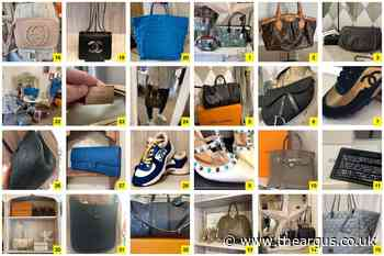 Photos of designer items stolen in Rye burglary released