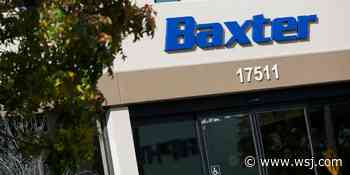 Baxter in Early Talks to Buy Medical-Equipment Maker Hill-Rom - The Wall Street Journal