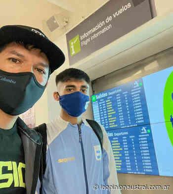 """El atleta Eulalio """"Coco"""" Muñoz se subió al avión rumbo a Tokyo 2020 - La Opinión Austral"""