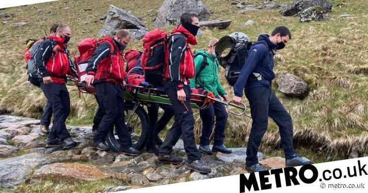Two women struck by lightning at Snowdon summit during freak storm