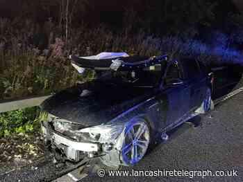 Police warning following crash on M66