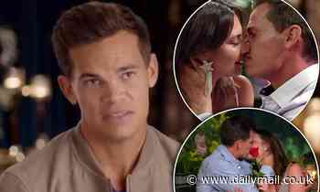 The Bachelor Jimmy Nicholson claims he was 'stitched up' by producers