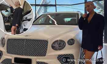 Tammy Hembrow buys a $460,000 BentleyBentayga SUV on the Gold Coast