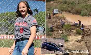Body of Arizona teen found near river four days after she was swept away by flood waters