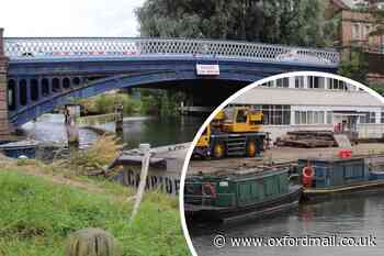 Environment Agency confirms their boat hit Botley Road bridge pipe