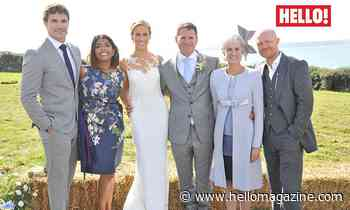 Helen Glover and Steve Backshall's breathtaking clifftop wedding – exclusive details and photos